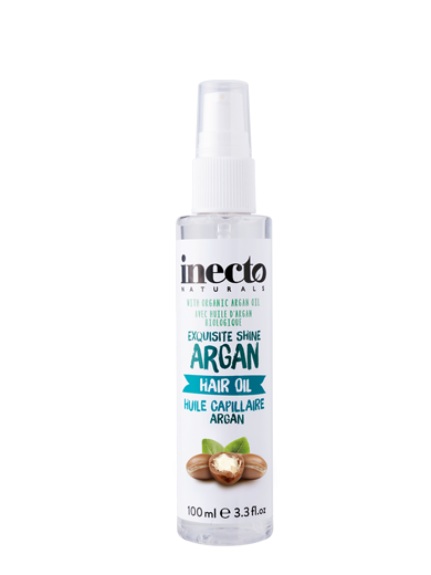 exquisite shine argan hair oil inecto russia